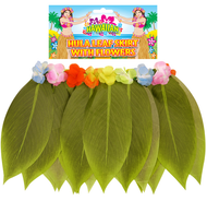 Ladies Hawaiian Banana Leaf Skirt Fancy Dress