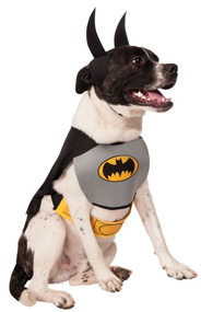 Dog Classic Batman Fancy Dress Costume
