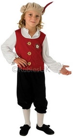 Boys Tudor Fancy Dress Costume