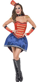 Ladies Boutique Ringmaster Fancy Dress Costume