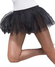 Ladies Black 4 Layer Tutu Skirt