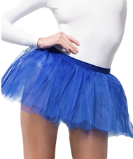 Ladies Blue 4 Layer Tutu Skirt