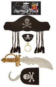 Adult Pirate Accessory Kit