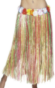 Ladies Longer Length Hula Skirt