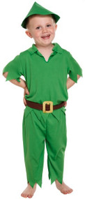 Boys Peter Pan Fancy Dress Costume 2