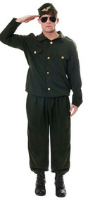 Mens Army Fancy Dress Costume 2