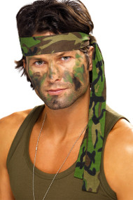 Adult Army Fancy Dress Headband