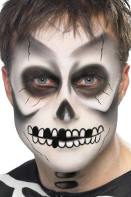 Skeleton Face Painting Kit