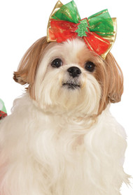 Dog Christmas Tree Hair Bow