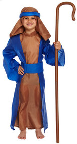 Boys Blue Shepherd Fancy Dress Costume