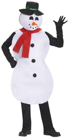 Adult Jolly Snowman Fancy Dress Costume