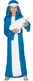 Girls Mary Fancy Dress Costume 2