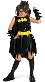Girls Deluxe Batgirl Fancy Dress Costume