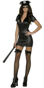 Ladies Fever Sexy Cop Fancy Dress Costume