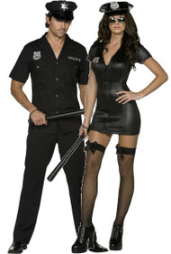 Couples Police Officer Fancy Dress Costumes