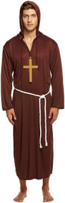 Mens Monk Fancy Dress Costume