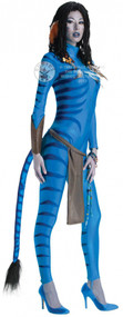 Ladies Avatar Neytiri Fancy Dress Costume