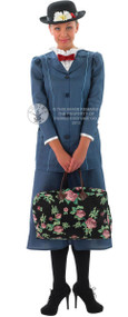 Ladies Mary Poppins Fancy Dress Costume