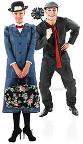 Couples Mary Poppins and Bert Fancy Dress Costumes