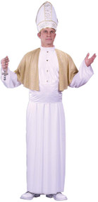 Mens Pontiff Pope Fancy Dress Costume