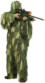Mens Ghillie Army Fancy Dress Costume