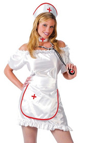 Ladies Nurse Nightingale Fancy Dress Costume