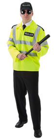 Mens Police Fancy Dress Costume 2