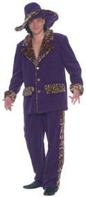 Mens New York Pimp Fancy Dress Costume