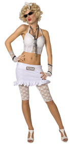 Ladies 1980s Wild Child Fancy Dress Costume