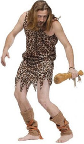 Mens Caveman Fancy Dress Costume 2