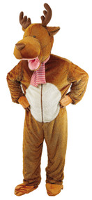 Adult Mascot Reindeer Fancy Dress Costume