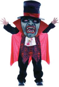 Boys Vampire Mad Hat Fancy Dress Costume