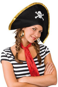 Adult Pirate Fancy Dress Hat