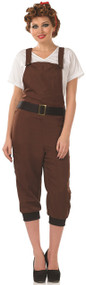 Ladies Land Girl Fancy Dress Costume 2