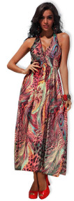 Ladies Multi Coloured Beach Dress