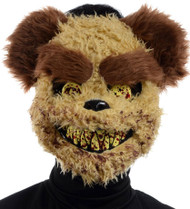Mens Scary Teddy Bear Halloween Face Mask