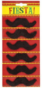 6 Pack Mexican Moustaches