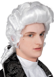 Adult Baroque Fancy Dress Wig