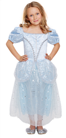 Girls Lost Shoe Princess Fancy Dress Costume