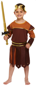 Boys Roman Soldier Fancy Dress Costume 2