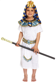 Boys Egyptian Pharaoh Fancy Dress Costume