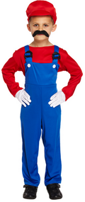 Boys Mario Fancy Dress Costume 2