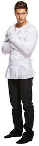 Mens Straight Jacket Fancy Dress Costume