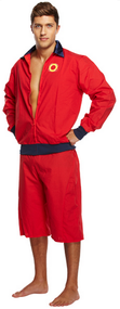 Mens Lifeguard Fancy Dress Costume 2