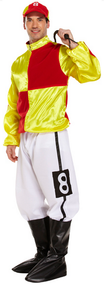 Mens Jockey Fancy Dress Costume 4