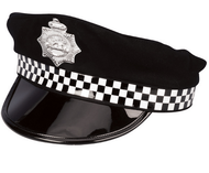 Adult Police Fancy Dress Hat