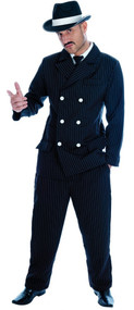 Mens Gangster Fancy Dress Costume 3