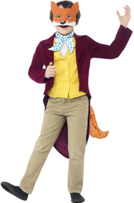 Boys Fantastic Mr Fox Fancy Dress Costume
