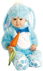 Baby Blue Easter Bunny Fancy Dress Costume