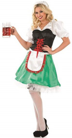 Ladies Sexy Bavarian Fancy Dress Costume